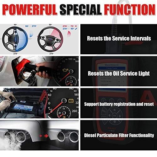 Autel MaxiCheck Pro ABS Brake Bleed OBD2 Scanner Car