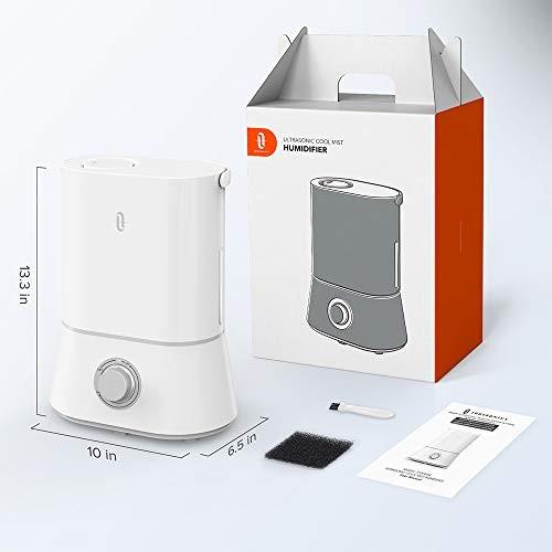 TaoTronics Ultrasonic Humidifiers For Babies, 4L Quiet