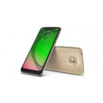 "Motorola Moto G7 Play (32GB, 2GB RAM) Dual SIM 5.7"" 4G LTE (GSM Only) Factory Unlocked Smartphone International Model XT1952-2 (Gold)"
