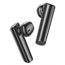 Wireless Earbuds Bluetooth Earbuds V5.0 Wireless Headphones, True Stereo Wireless Earphones with 24Hrs Playback, Comfy Wear & Built-in Dual Mic, Hi-fi Sound Bluetooth Headset w/Portable Charging Case