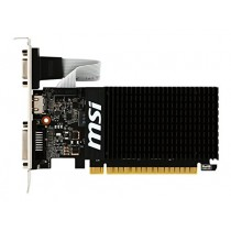MSI Gaming GeForce GT 710 2GB GDRR3 64-bit HDCP Support DirectX 12 OpenGL 4.5 Heat Sink Low Profile Graphics Card (GT 710 2GD3H LP)
