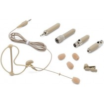 Samson SE10T Earset Microphone with Miniature Condenser Capsule, Tan