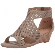 Report Women's Mackie Wedge Sandal Olive 6 M US