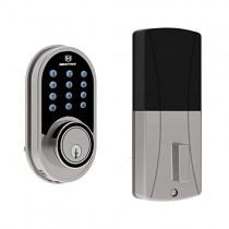 Electronic Deadbolt Door Lock, MAXFREE Keyless Entry Keypad Smart Deadbolt with 1-Touch Motorized Locking and 3 Backup Keys, for The Home, Office, Hotel and Garage