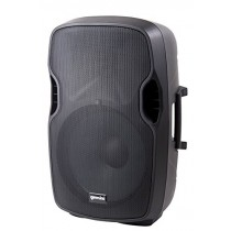 "Gemini AS Series AS-10P Professional Audio 10-inch Portable Active PA Loudspeaker with Equalizer Mix Output, Mic and Line XLR, 1/4"" & RCA inputs"