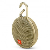 JBL Clip 3 Waterproof Portable Bluetooth Speaker - Sand