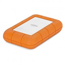 LaCie Rugged Raid Pro 4TB External Hard Drive Portable HDD - USB 3.0 Compatible - with SD Card Slot, Drop Shock Dust Water Resistant, for Mac and PC Computer Desktop Workstation Laptop (STGW4000800)