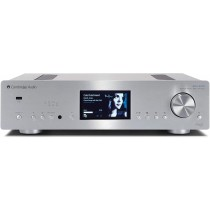 Cambridge Audio Azur 851N Network Player - Digital Preamplifier, 24bit/384kHz ATF Upsampling, Asynchronous USB Input, Airplay, Tidal, Twin DACs (Silver)