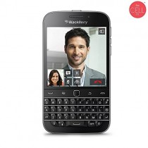 BlackBerry Classic SQC100-4 16GB Unlocked GSM 4G LTE Keyboard Smartphone w/ 8MP Camera - Black