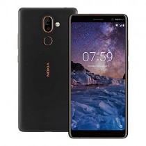 Nokia 7 Plus TA-1046 Dual Sim 64GB/4GB (Black) - Factory Unlocked - International Version - No Warranty in The USA - GSM ONLY, NO CDMA - Android One