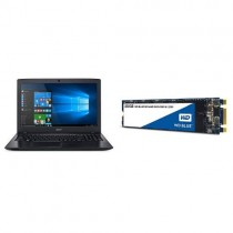 """Acer Aspire E 15, 15.6"""" Full HD and WD Blue 3D NAND 250GB PC SSD - SATA III 6 Gb/s M.2 2280 Solid State Drive"""