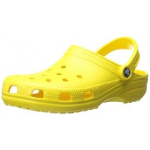 Crocs Classic Clog Adults, Lemon, 15 M US Women / 13 M US Men