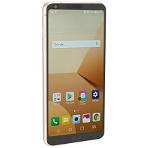 "LG G6 PLUS H870DSU 128GB, 5.7"" QHD, Dual Sim, 4GB RAM, GSM Unlocked International Model, No Warranty (Gold)"