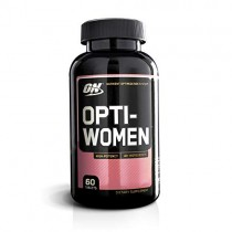 OPTIMUM NUTRITION Opti-Women, Womens Daily Multivitamin Supplement with Iron, Capsules, 60 Count