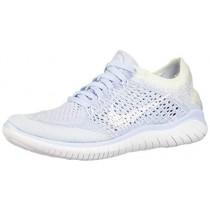 Nike Women's Free Rn Flyknit 2018 Running Shoe 8.5 Blue