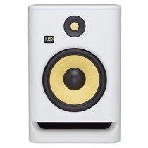 "KRK RP8 Rokit 8 G4 Professional Bi-Amp 8"" Powered Studio Monitor, White Noise"