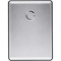 G-Technology 4TB G-DRIVE mobile USB 3.0 Portable External Hard Drive, Silver - 0G06074-1