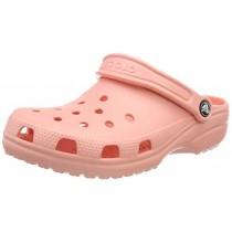 Crocs Men's and Women's Classic Clog, Comfort Slip On Casual Water Shoe, Lightweight, Melon, 6 US Women / 4 US Men