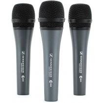 Sennheiser E835 Microphone, Pack of 3
