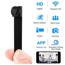 Spy Hidden Camera, Wireless Wi-Fi Camera 1080P APP Mini Portable Covert Security Cam Motion Detection for iOS/Android Mobile Phone (2019 New Version)
