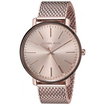 Michael Kors Women's Pyper Quartz Watch with Stainless-Steel-Plated Strap, Rose Gold, 17.8 (Model: MK4340)