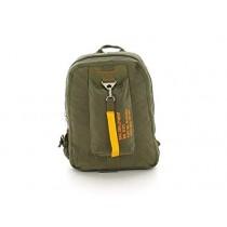 Olive Drab Vintage Canvas Flight Bag