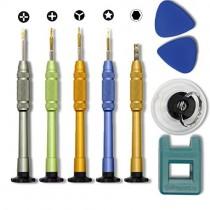 Ewparts 9 in 1 iPhone 7 Opening Repair Tool Kit,Repair Screwdriver for iPhone 6S/6S+/6/5S/5/5C/4S/4/SE, iPod