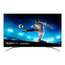 Hisense 55in Class H9E Plus (54.6in diag.) 4K UHD Android TV with HDR, Google Assistant (55H9E Plus) (Renewed)