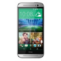 HTC One M8 32GB Smartphone AT&T Wireless 4G LTE for all GSM Carriers - Glacial Silver