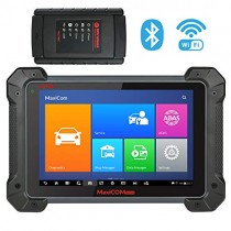 Autel MaxiCOM MK908 Ultimate Automotive Diagnostic Scan Tool with ADAS, ECU Coding, Full Bi-Directional Control, ABS Brake Bleed, OE-Level All Systems Diagnosis, Upgraded Ver. of MS908 MS906 MK808