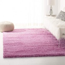 Safavieh California Premium Shag Collection SG151-3232 Pink Area Rug (4' x 6')