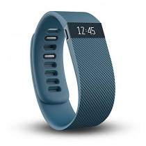 Fitbit Charge Wireless Activity Wristband, Slate, Small