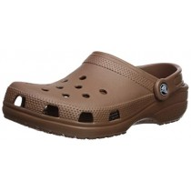 Crocs Men's and Women's Classic Clog, Comfort Slip On Casual Water Shoe, Lightweight, Bronze, 8 US Women / 6 US Men
