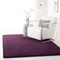 Safavieh California Premium Shag Collection SG151-7373 Purple Area Rug (4' x 6')