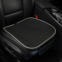 yberlin Car Seat Cushion,Breathable Comfort Car Drivers Seat Covers, Universal Car Interior Seat Protector Mat Pad Fit Most Car, Truck, SUV, or Van(Black Front Seat)