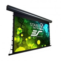 """Elite Screens Starling Tab-Tension 2, 120"""" 16:9, 12"""" Drop, Tensioned Electric Motorized Projector Screen, STT120UWH2-E12"""