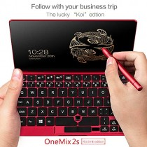 "[Koi Limit Edition] One Netbook One Mix 2S Yoga 7"" Pocket Laptop UMPC Ultrabook Windows 10 Portable Mini Laptop Intel Core M3-8100Y Touch Screen Tablet PC 8GB/512GB+2048 Level Stylus Pen"