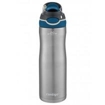 Contigo AUTOSPOUT Chug Chill Vacuum-Insulated Stainless Steel Water Bottle, 20 oz., Monaco Lid