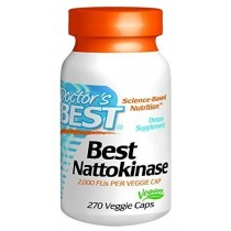 Doctor's Best Nattokinase - 270 ct (Pack of 2)
