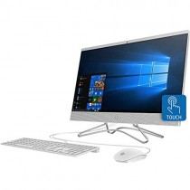 HP 24-F0047C All-in-One Touchscreen PC AIO 8GB/1TB, Silver (Renewed)