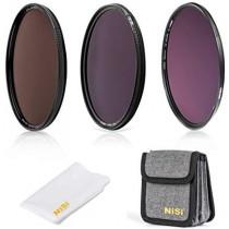 NiSi 72mm Circular Filter ND Filter Kit, Including ND8(3 Stops), ND64(6 Stops)+CPL, ND1000(10 Stops) and Filter Pouch