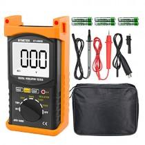 Digital Insulation Resistance Tester, BTMETER BT-6688B with Test Voltage 5000V, Insulation Resistance 200G ohms, High Voltage Indication