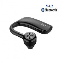 Bluetooth Headset for Business, Ture Wireless Earpiece Support 25 Hours Talking Time Hands-Free Headphone with HD Microphone Single Ear Noise Cancelling Compatible for iOS and Android Cell Phones
