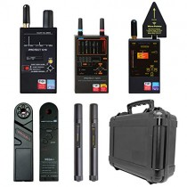 Discover It - Anti-Spy Counter Surveillance Bug Detector Ultimate Bundle - Detect Listening Devices, Hidden Cameras, GSM, 2G, 3G, LTE, Bluetooth, 2.4GHz & 5GHz Wi-Fi and Wi-Max RF Signals