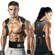 maysuwell Back Brace Posture Corrector|Fully Adjustable Support Brace for Men and Women|Improves Posture and Provides Lumbar Back Brace|Lower and Upper Back Pain Relief (XLarge)