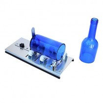 Glass Bottle Cutter,Round Bottle Cutting Machine, DIY Machine for Cutting Wine, Beer, Liquor, Whiskey, Alcohol, Champagne, Water or Soda Round Bottles & Mason Jars to Craft Glasses - Accessories Tool