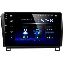 Dasaita 10 inch Large Screen Single Din Android 10.0 Car Stereo for Toyota Tundra 2007 to 2013 and Sequoia 2008 to 2018. Radio with GPS Navigation 4G Ram 64G ROM Built in DSP Dash Kit GPS Meomery Card