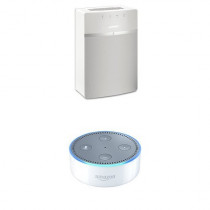 Bose SoundTouch 10 (White) + All-New Echo Dot (2nd Generation)