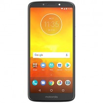 "Moto E5 (5th Generation) 5.7"" Max Vision Display, Monster 4000mAh Battery, Dual Sim GSM Unlocked International Model, No Warranty XT1944-4 (Gray)"