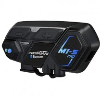 Motorcycle Bluetooth Intercom, Fodsports M1S Pro 2000m 8 Riders Group Motorbike Helmet Communication System Headset Universal Wireless Interphone (Waterproof/Handsfree/Stereo Music/GPS/2 Mic)